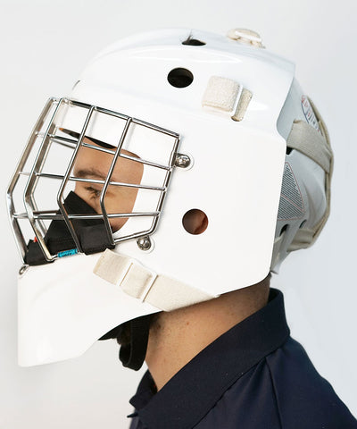 CCM GAME ON GOALIE SENIOR FACE MASK