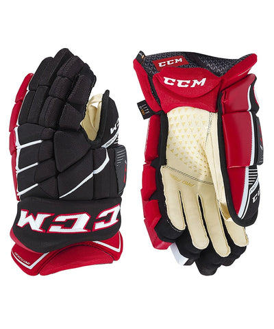 CCM JETSPEED FT1 JR HOCKEY GLOVES