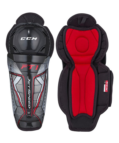CCM JETSPEED FT1 YTH SHIN GUARDS