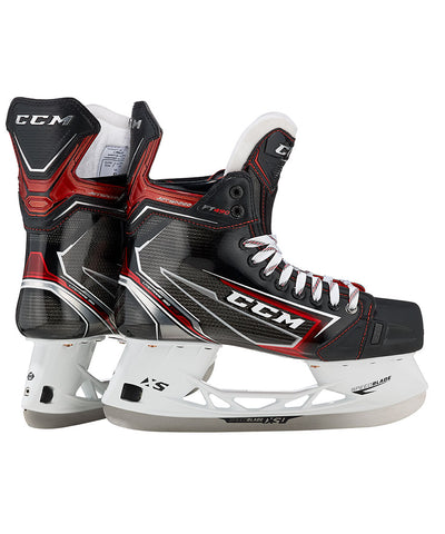CCM JETSPEED FT490 JR HOCKEY SKATES