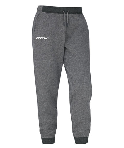 CCM YTH CORE FLEECE PANTS - GREY