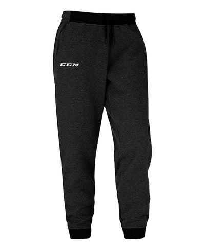 CCM MEN'S CORE FLEECE PANTS - BLACK