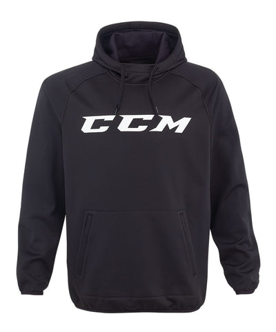 CCM MEN'S CORE TECH PULLOVER HOODIE - BLACK