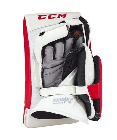 CCM PREMIER 2 PRO INTERMEDIATE GOALIE BLOCKER