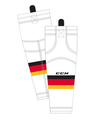 CCM SX8000 SR EDGE SOCK - CALGARY AWAY