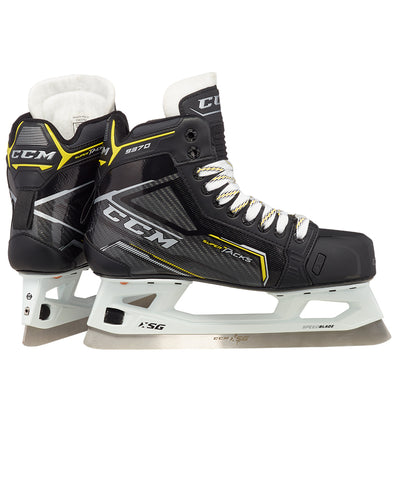 CCM SUPER TACKS 9370 INTERMEDIATE GOALIE SKATES