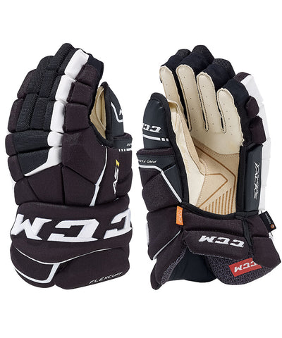 CCM SUPER TACKS AS1 JR HOCKEY GLOVES