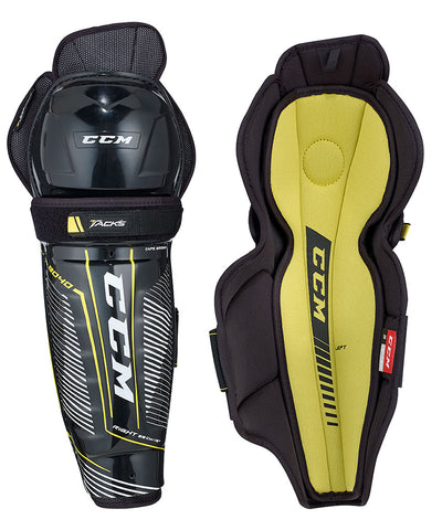 CCM TACKS 9040 SR SHIN GUARDS