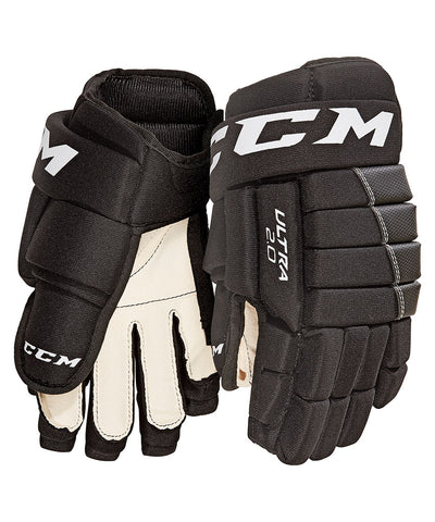 CCM ULTRA TACKS 2.0 JR HOCKEY GLOVES