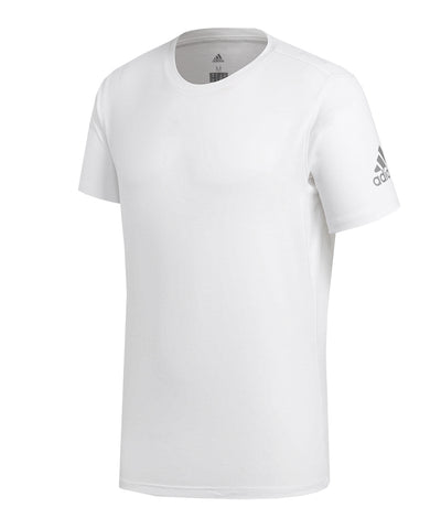 ADIDAS MEN'S FREELIFT PRIME T SHIRT - WHITE