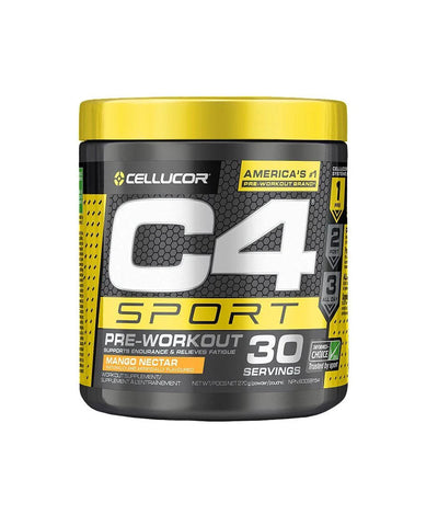 CELLUCOR C4 SPORT PRE-WOROUT SUPPLEMENT - MANGO NECTAR