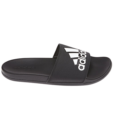 ADIDAS MEN'S ADILETTE COMFORT SLIDE SANDALS - BLACK