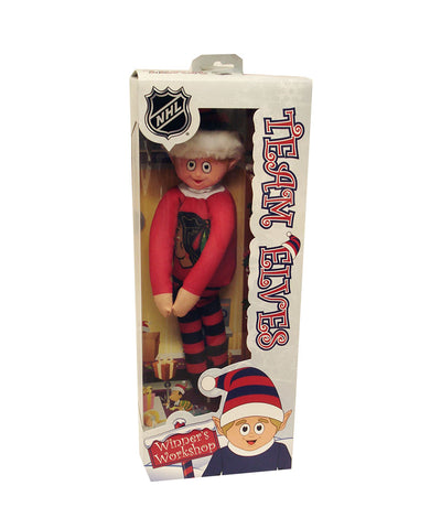 CHICAGO BLACKHAWKS ELF ON THE SHELF