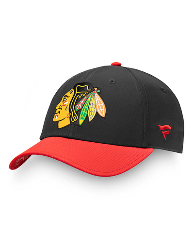 CHICAGO BLACKHAWKS FANATICS MEN'S AUTHENTIC PRO 2019 NHL DRAFT HAT