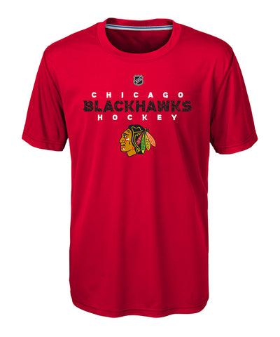 CHICAGO BLACKHAWKS KID'S AVALANCHE T SHIRT