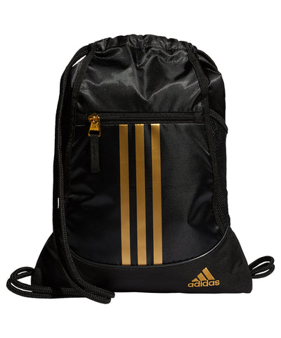 ADIDAS MEN'S ALLIANCE II SACKPACK - BLACK/GOLD