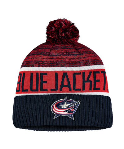 COLUMBUS BLUE JACKETS FANATICS MEN'S RINKSIDE GOALIE CUFFED KNIT TOQUE