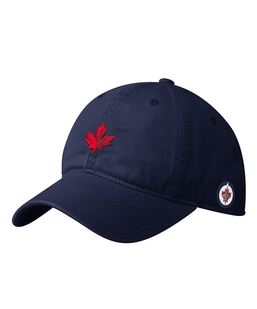 WINNIPEG JETS ADIDAS MEN S DAD HAT – Pro Hockey Life dc01579320c
