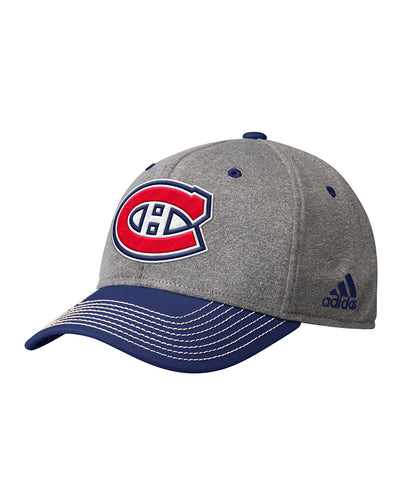MONTREAL CANADIENS ADIDAS MEN'S STRUCTURED ADJUSTABE HAT