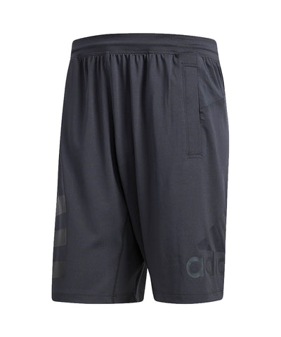 ADIDAS MEN'S SPEEDBREAKER HYPE ICON SHORTS - GREY