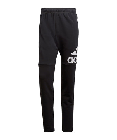 ADIDAS MEN'S ESSENTIAL LOGO PANTS - BLACK
