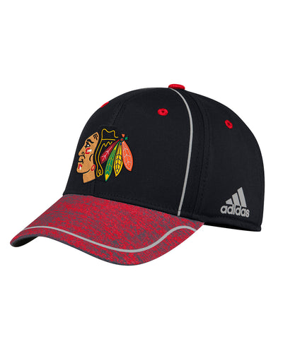 053569cebfdb1 CHICAGO BLACKHAWKS ADIDAS MEN S 2018 NHL STRUCTURED DRAFT HAT ...