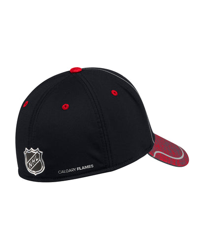 CALGARY FLAMES ADIDAS MEN'S 2018 NHL STRUCTURED DRAFT HAT