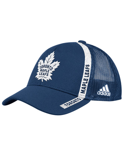 TORONTO MAPLE LEAFS ADIDAS MEN S ADJUSTABLE MESH ... 0f9b5e3bb062