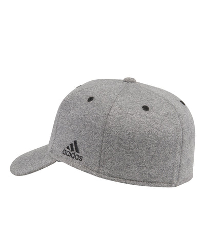 DETROIT RED WINGS ADIDAS MEN'S PRESS CONFERENCE STRUCTURED FLEX HAT