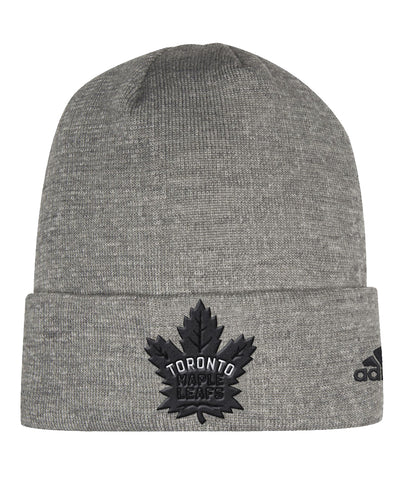 TORONTO MAPLE LEAFS ADIDAS MEN'S PRESS CONFERENCE CUFFED BEANIE TOQUE