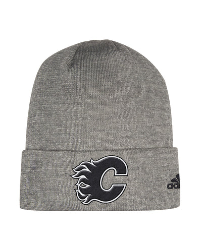 CALGARY FLAMES ADIDAS MEN'S PRESS CONFERENCE CUFFED BEANIE TOQUE