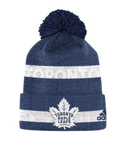 TORONTO MAPLE LEAFS ADIDAS MEN'S CUFFED BEANIE TOQUE