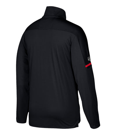 CALGARY FLAMES ADIDAS MEN'S AUTHENTIC PRO 1/4 ZIP