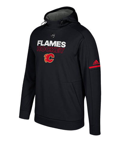CALGARY FLAMES ADIDAS MEN'S AUTHENTIC PRO PLAYER HOODIE