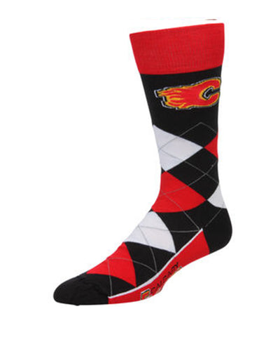 CALGARY FLAMES ARGYLE SOCKS