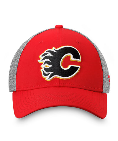 CALGARY FLAMES FANATICS MEN'S 2019 NHL STANLEY CUP STRUCTURED STRETCH HAT