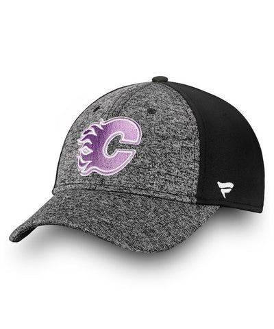 CALGARY FLAMES FANATICS MEN'S HOCKEY FIGHTS CANCER 2018 HAT