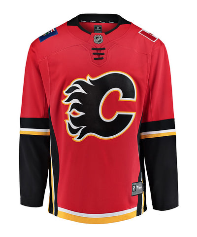 FANATICS CALGARY FLAMES MENS HOME BREAKAWAY JERSEY