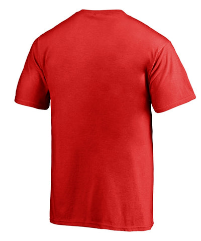 CALGARY FLAMES FANATICS MEN'S PRIMARY LOGO T SHIRT