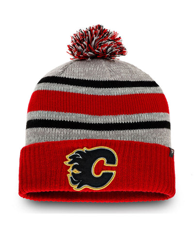 FANATICS CALGARY FLAMES TRUE CLASSIC COLLEGIATE KNIT TOQUE
