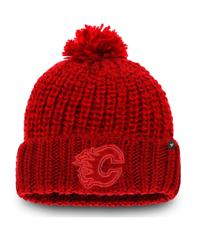 FANATICS CALGARY FLAMES WOMEN'S ACE KNIT TOQUE