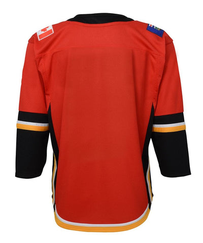 CALGARY FLAMES YOUTH PREMIER JERSEY