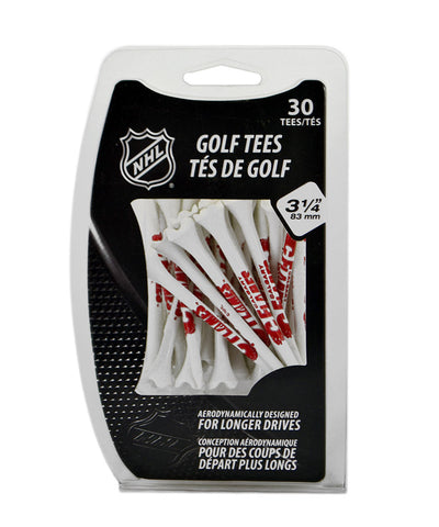 CALGARY FLAMES PERFORMANCE PLASTIC GOLF TEES