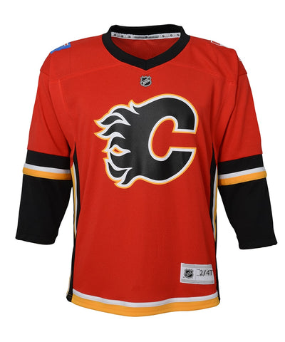 CALGARY FLAMES TODDLER REPLICA JERSEY