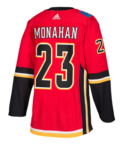 ADIDAS AUTHENTIC PRO CALGARY FLAMES SEAN MONAHAN JERSEY