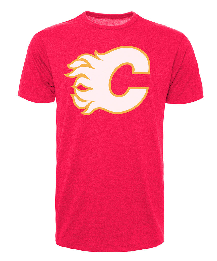 best loved bc128 83539 CALGARY FLAMES 47 BRAND MEN'S VINTAGE CLUB T SHIRT