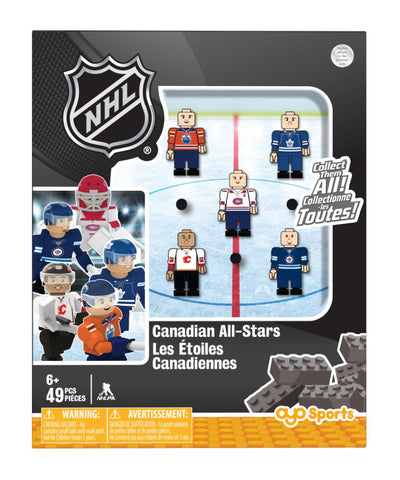 CANADIAN NHL TEAM ALL STARS OYO FIGURE SET