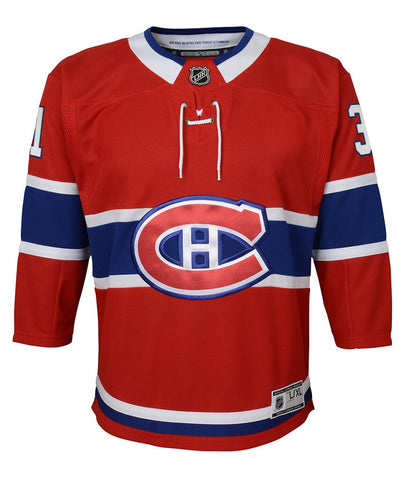 CAREY PRICE MONTREAL CANADIENS YOUTH PREMIER JERSEY
