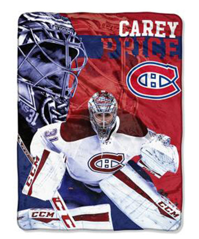 CAREY PRICE MONTREAL CANADIENS MICRO THROW BLANKET