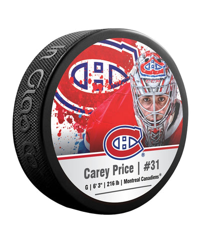 CAREY PRICE MONTREAL CANADIENS NHL HOCKEY PUCK